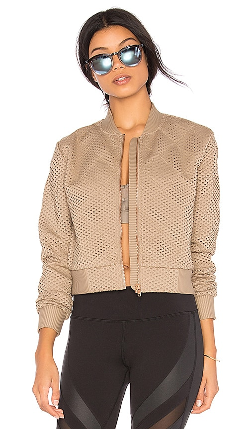 alo Mytyh Jacket in Taupe
