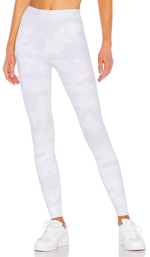 261d025d091cd alo High Waist Vapor Legging in White Camouflage | REVOLVE
