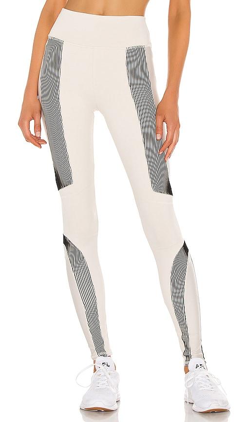 Alo Yoga Electric Legging In Bone