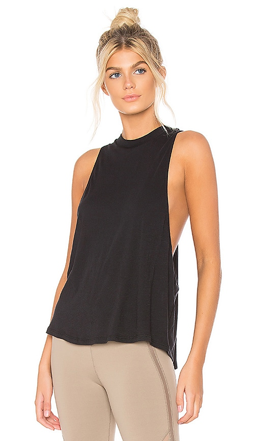 alo Flex Tank in Black