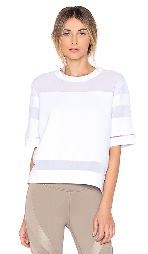 alo Mellow Top in White