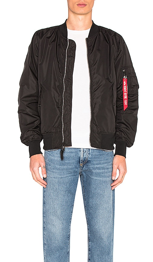 ALPHA INDUSTRIES L 2B Scout Bomber in Black