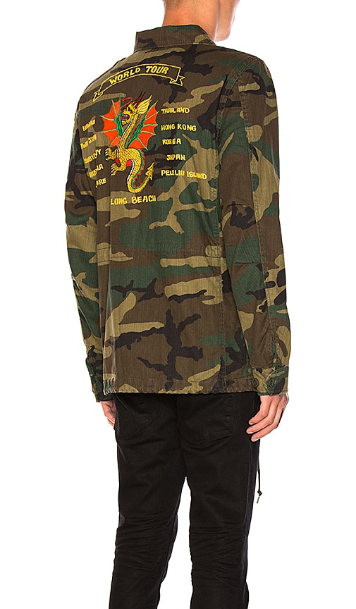 ALPHA INDUSTRIES Dragon Tour Field Coat in Army