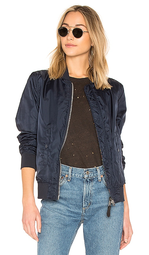 ALPHA INDUSTRIES Liberty Reversible Jacket in Navy