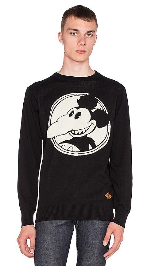 Altru Mickey Rat Sweater in Black
