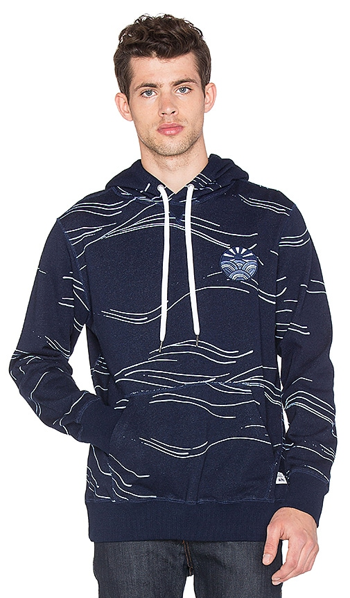 Altru Pullover Hoodie in Navy