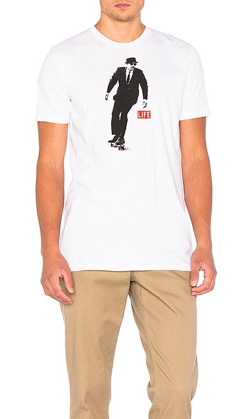 Altru x LIFE Skater Tee in White