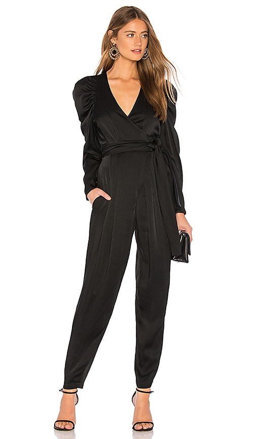 bacc6b7bf12130 A.L.C. Christian Jumpsuit in Black | REVOLVE