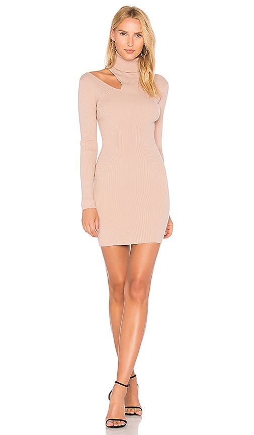 A.L.C. West Dress in Taupe