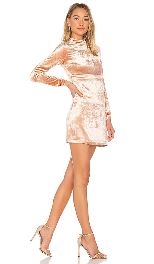 Gemma Velvet Mini Dress