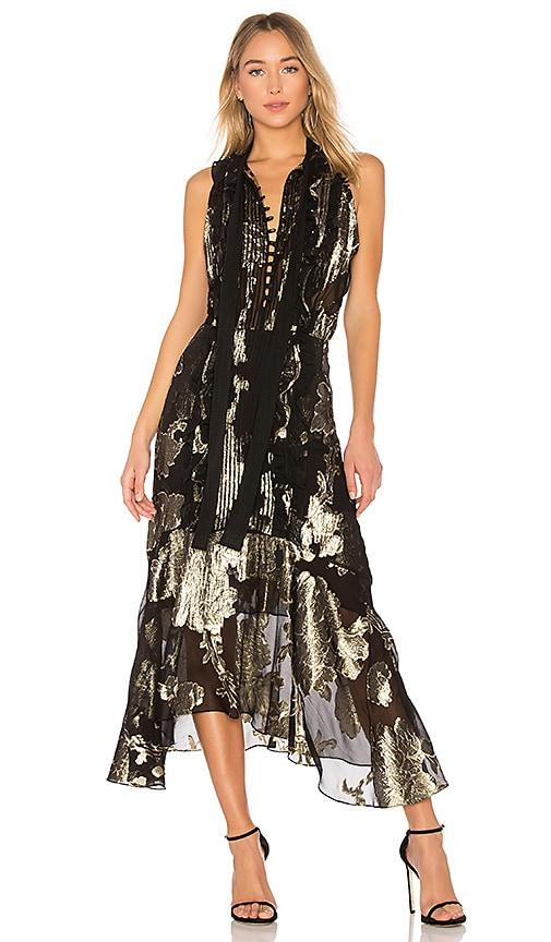 A.L.C. Harriet Dress in Black