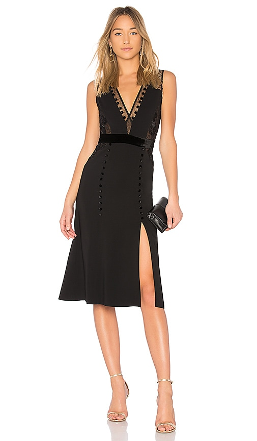 A.L.C. Harlow Dress in Black