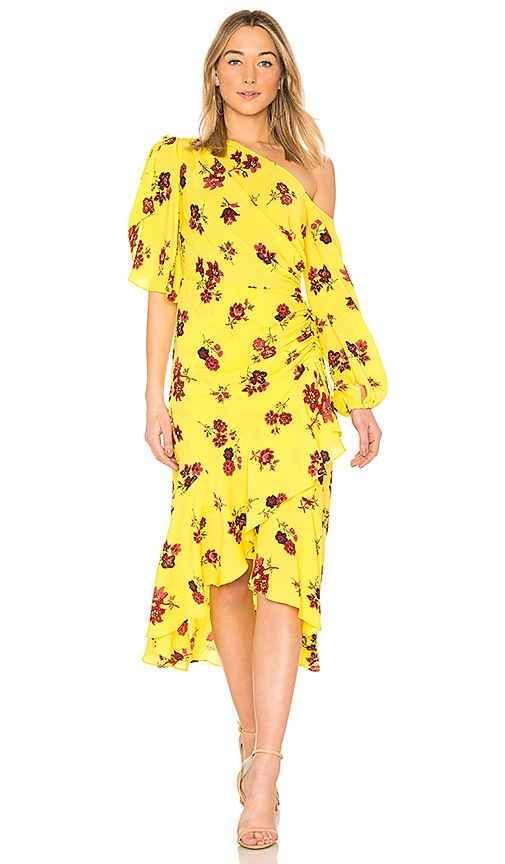 A.L.C. Florence Dress in Yellow