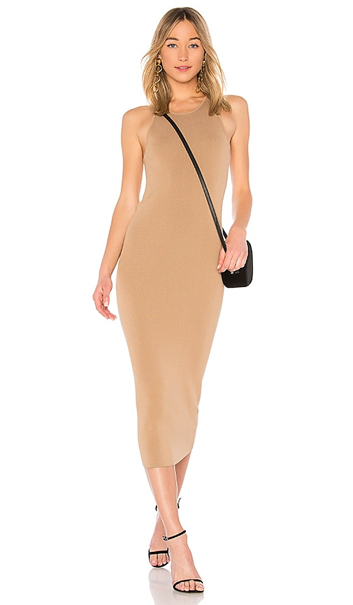 A.L.C. Marc Dress in Brown