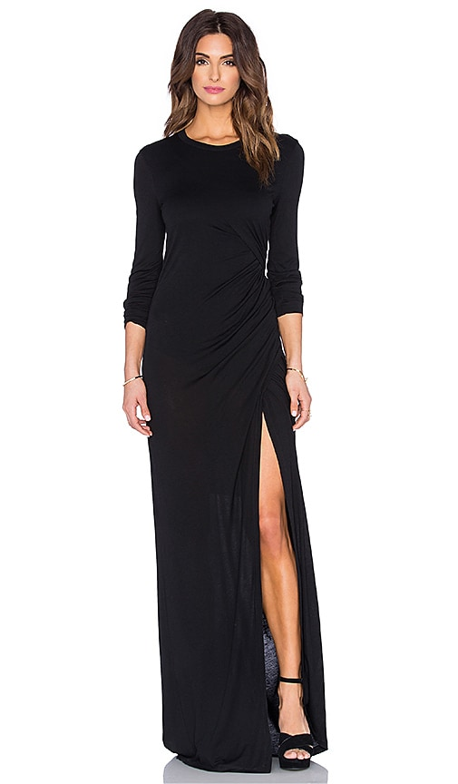 A.L.C. Vincent Dress in Black