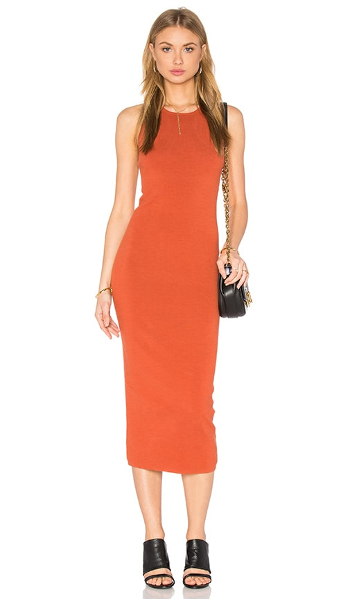 A.L.C. Marc Dress in Burnt Orange