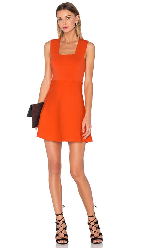 A.L.C. Ali Dress in Orange