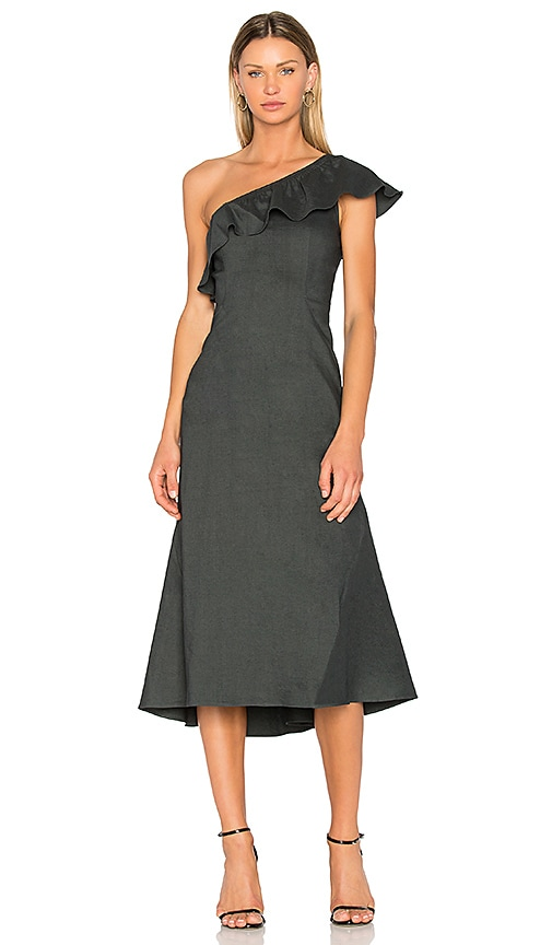 A.L.C. Evangeline Dress in Black