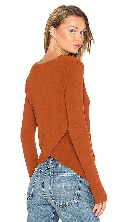 A.L.C. Saxton Sweater in Brown