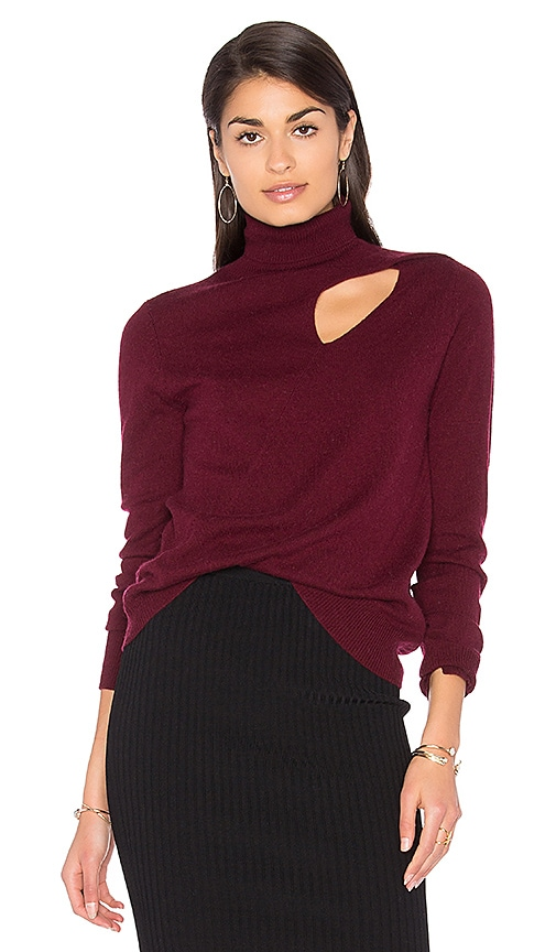 A.L.C. Billy Sweater in Burgundy