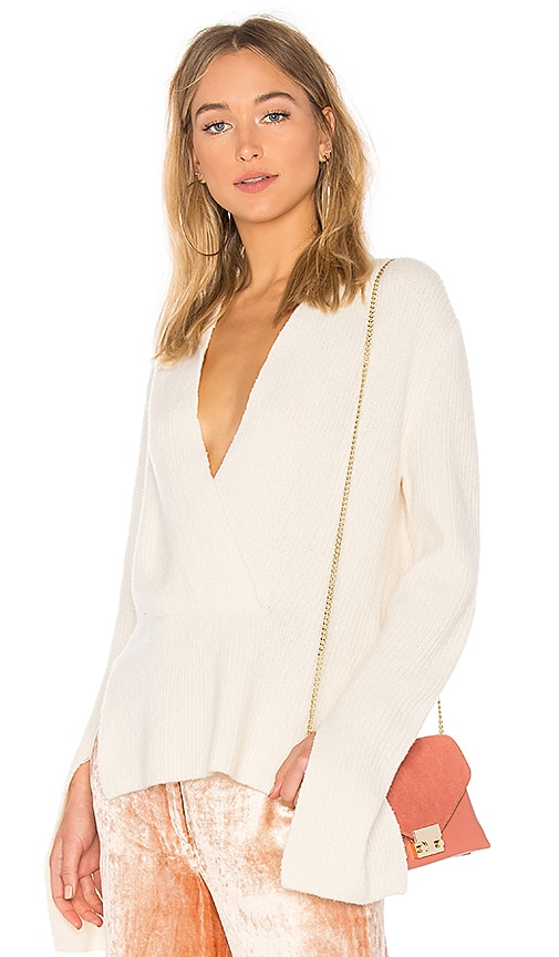 A.L.C. Arlin Sweater in White