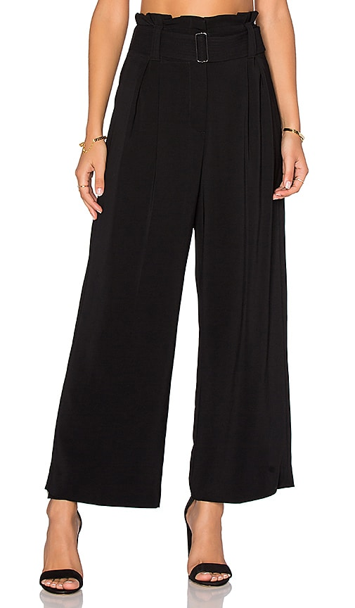A.L.C. Dillon Gaucho Pant in Black