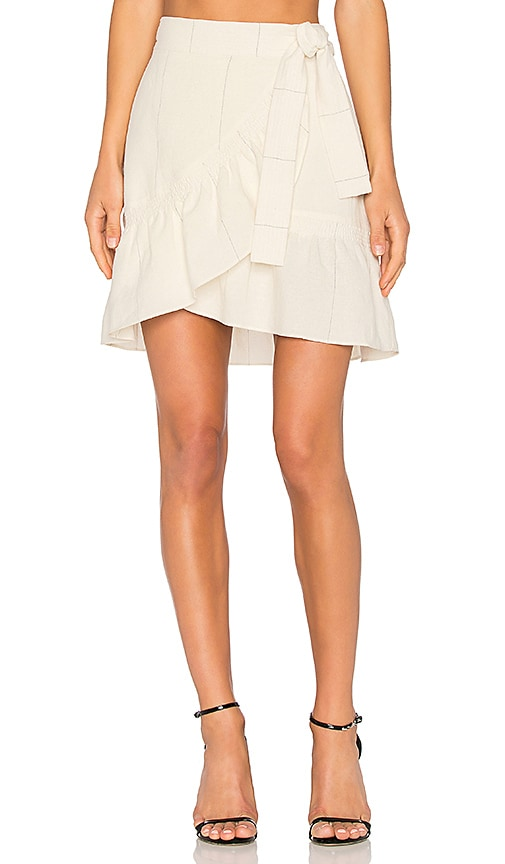 A.L.C. Hampton Skirt in Ivory
