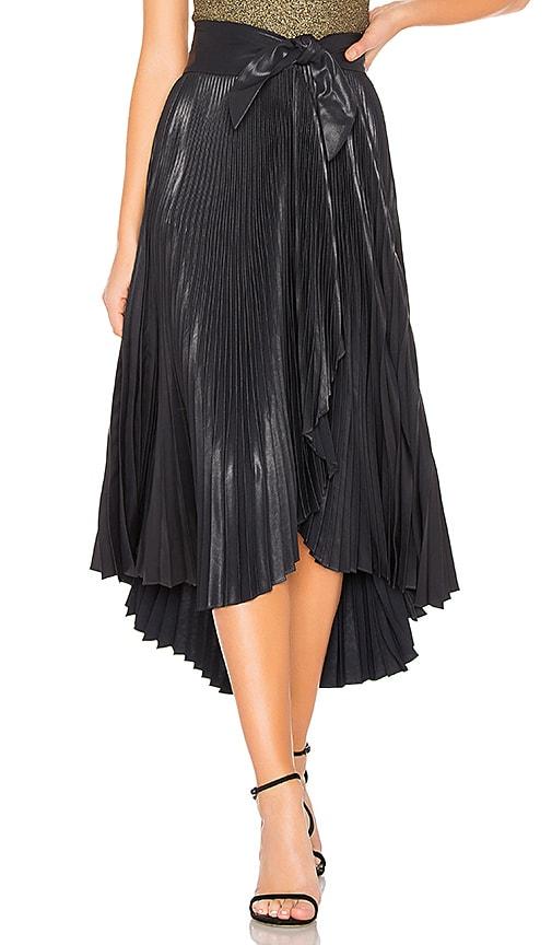 Eleanor Leather Skirt
