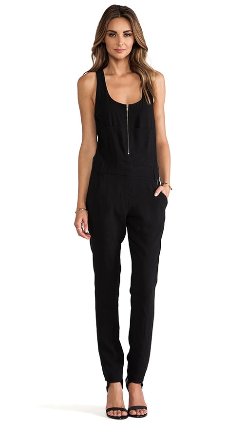 d0717932fec9 A.L.C. Georgia Jumpsuit in Black