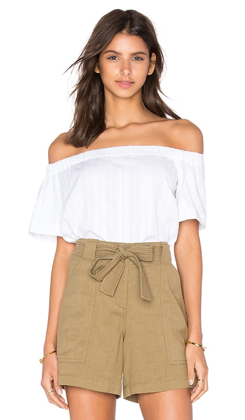 A.L.C. Lara Top in White