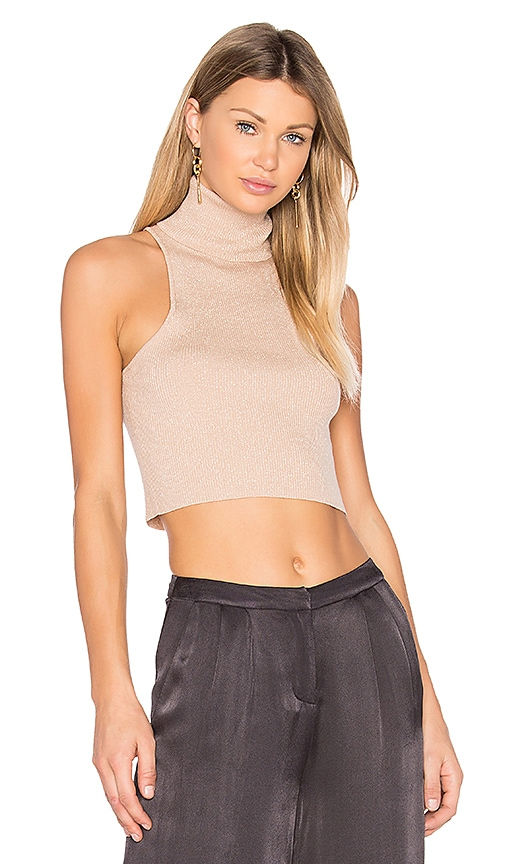 A.L.C. Presley Top in Beige