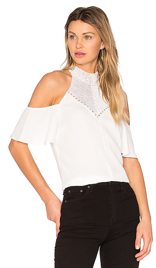 A.L.C. Rora Top in White