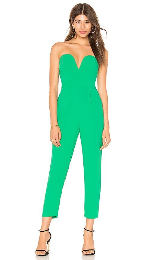 Cherri Jumpsuit in Green. - size S (also in L,M,XS) Amanda Uprichard