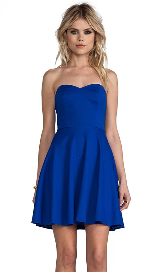 Strapless Ponti Dress