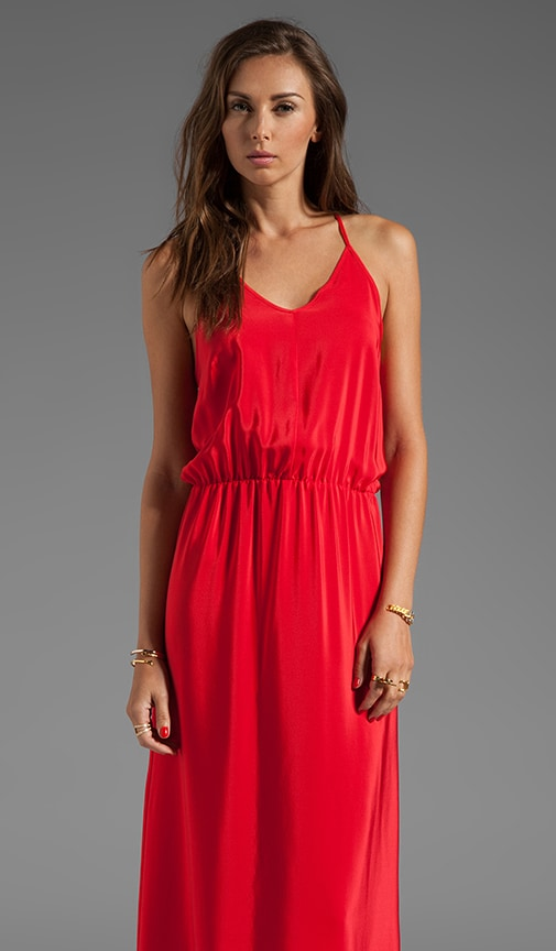 Y-Back Maxi Dress
