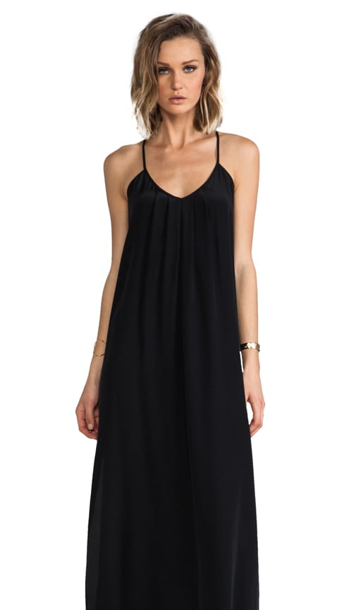 Button Back Maxi Dress