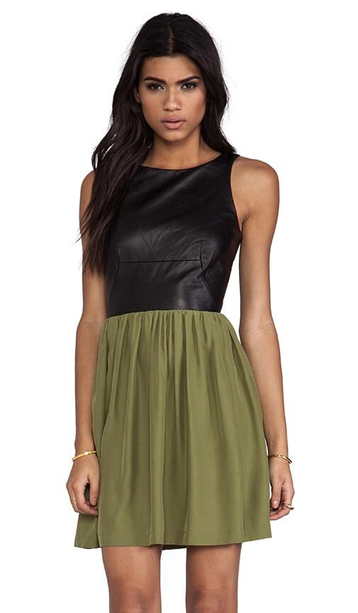 Leather Martini Dress