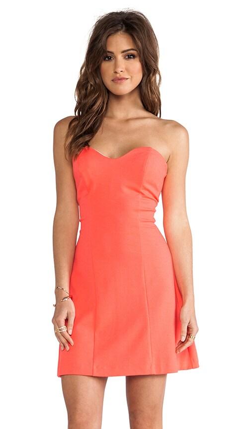 Heart Bustier Mini Dress