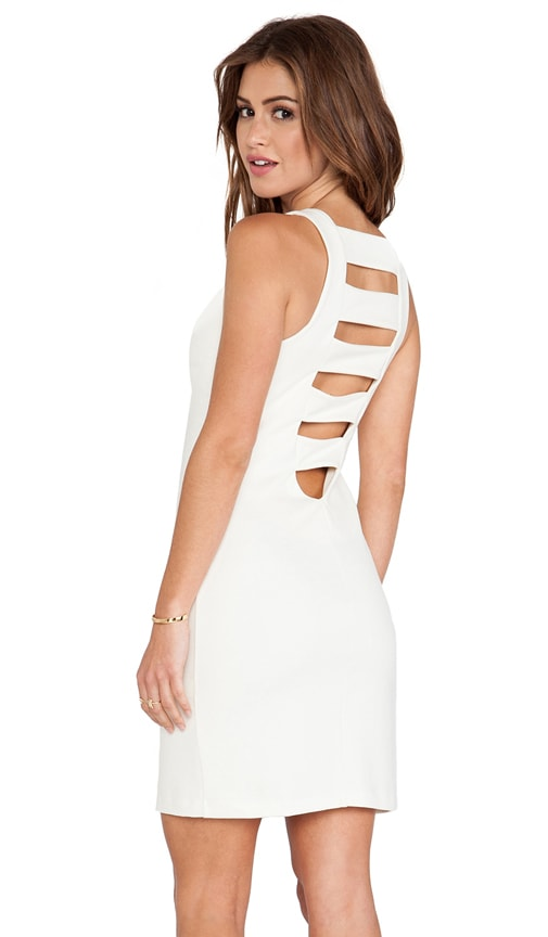 Ponte Ladder Back Dress