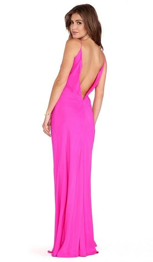 Amanda Uprichard EXCLUSIVE Bias Maxi Dress in Hot Pink | REVOLVE