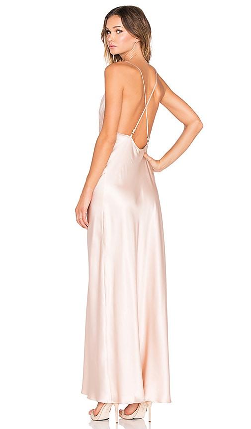 Amanda Uprichard x REVOLVE Waverly Maxi Dress in Blush