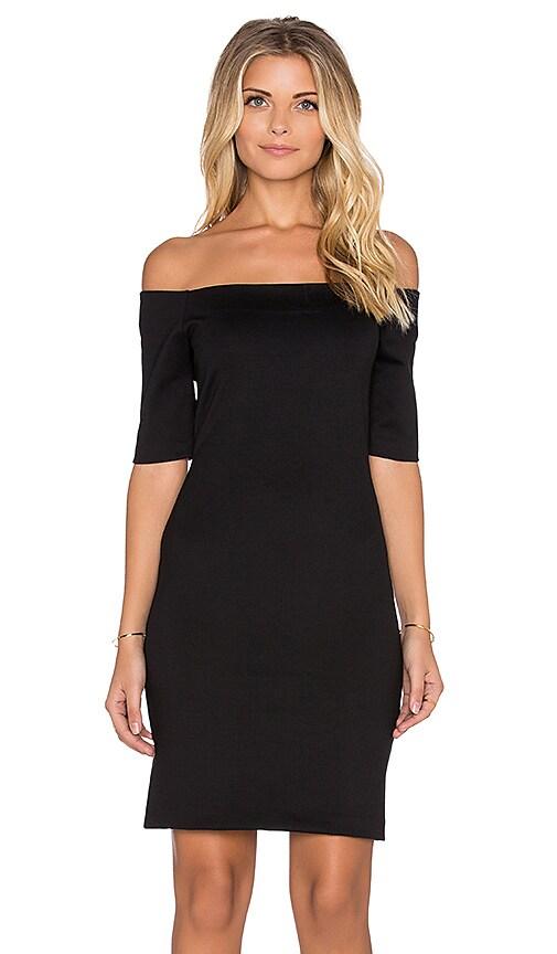 Amanda Uprichard Electra Mini Dress in Black