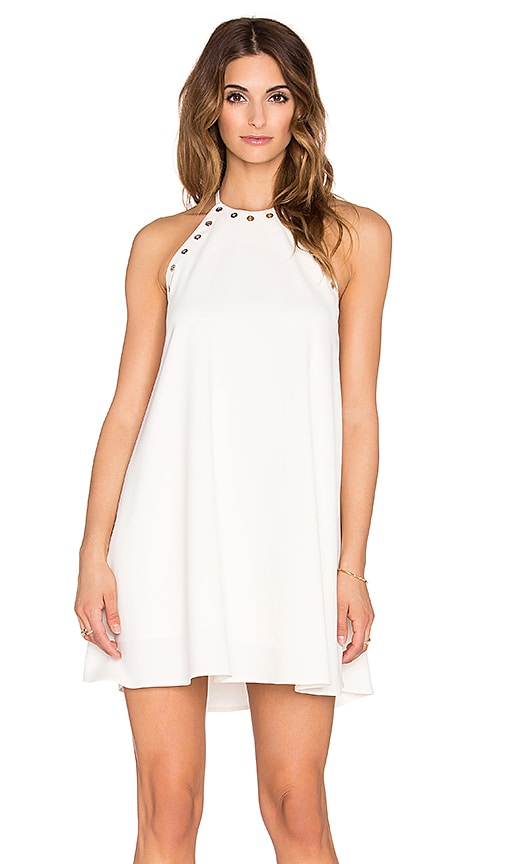 Amanda Uprichard Montauk Mini Dress in Ivory