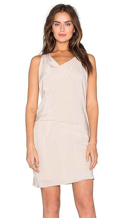 Amanda Uprichard Athena Dress in Bone