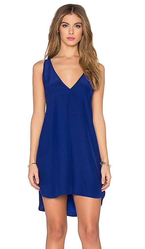 Amanda Uprichard Vita Dress in Blue