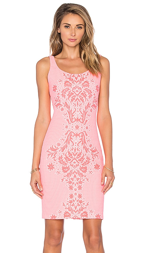 Amanda Uprichard Cubano Dress in Pink