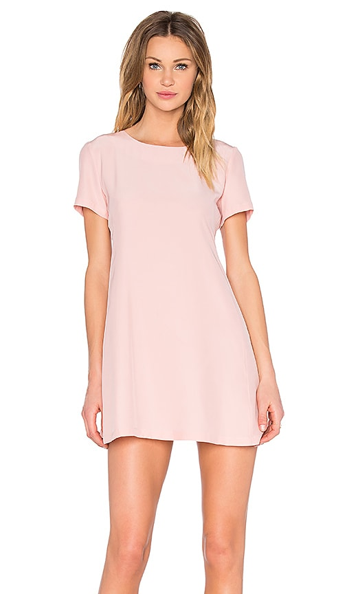 Amanda Uprichard Winthrop Dress in Pink