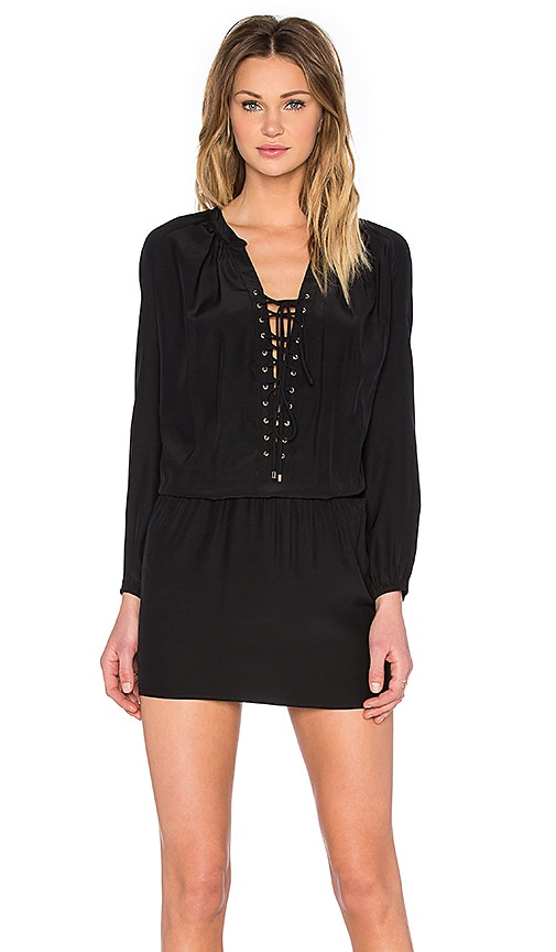 Amanda Uprichard Jackie Dress in Black