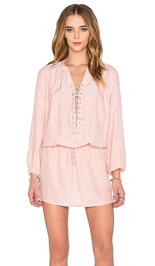 Amanda Uprichard Jackie Dress in Pink