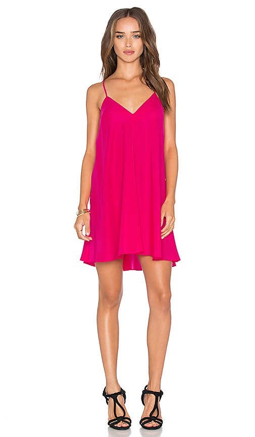 Amanda Uprichard Jamily Dress in Pink